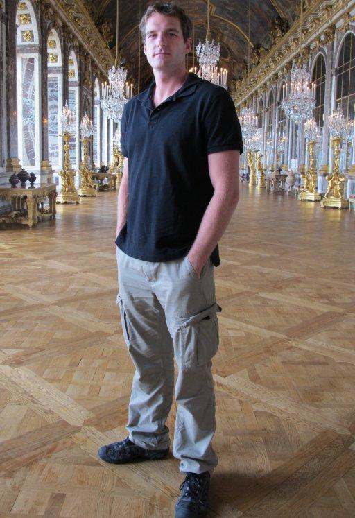 Dan at Versailles