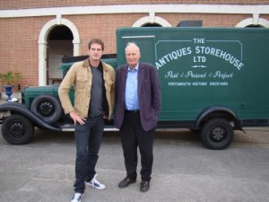 Dan and Peter for Celebrity Antiques Road Trip