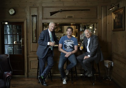 Jon, Dan and Peter Snow